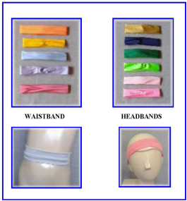 HEAD & WAIST BANDS