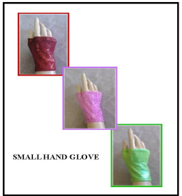 HOLOGRAM SMALL GLOVES